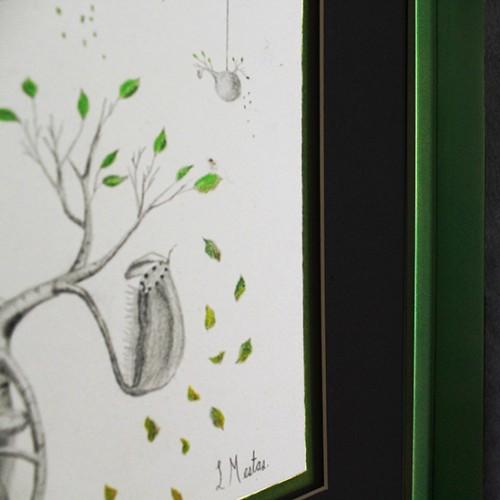 <span>Cuadro en contexto</span>: Enmarcado elaborado por nosotros.<br>Venta de la pintura por Sala de Arte López Mestas.<br>Autor de la pintura: Carlos Mess.