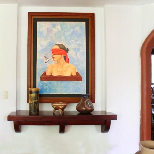 <span>Cuadro en contexto</span>: Enmarcado de la pintura elaborado por nosotros.<br>Venta de la pintura por Sala de Arte López Mestas.